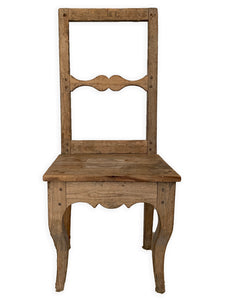 PRIMITIVE SWEDISH CHAIR C. 1800s