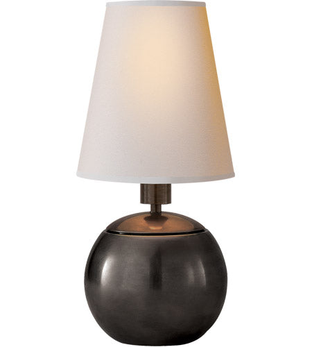 SMALL BRONZE TABLE LAMP