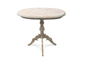 OVAL TRIPOD TABLE