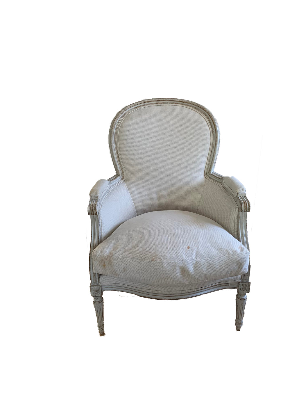 SWEDISH UPHOLSTERED CHAIR