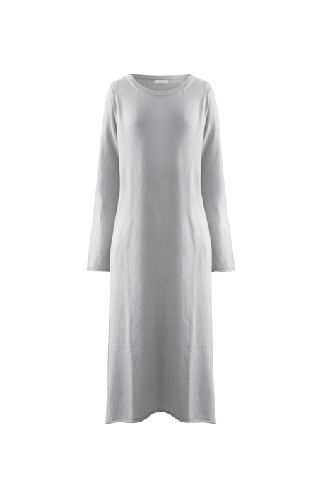 Silver Cashmere Dress