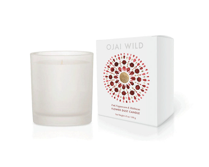 Pink Peppercorn and Hibiscus Candle