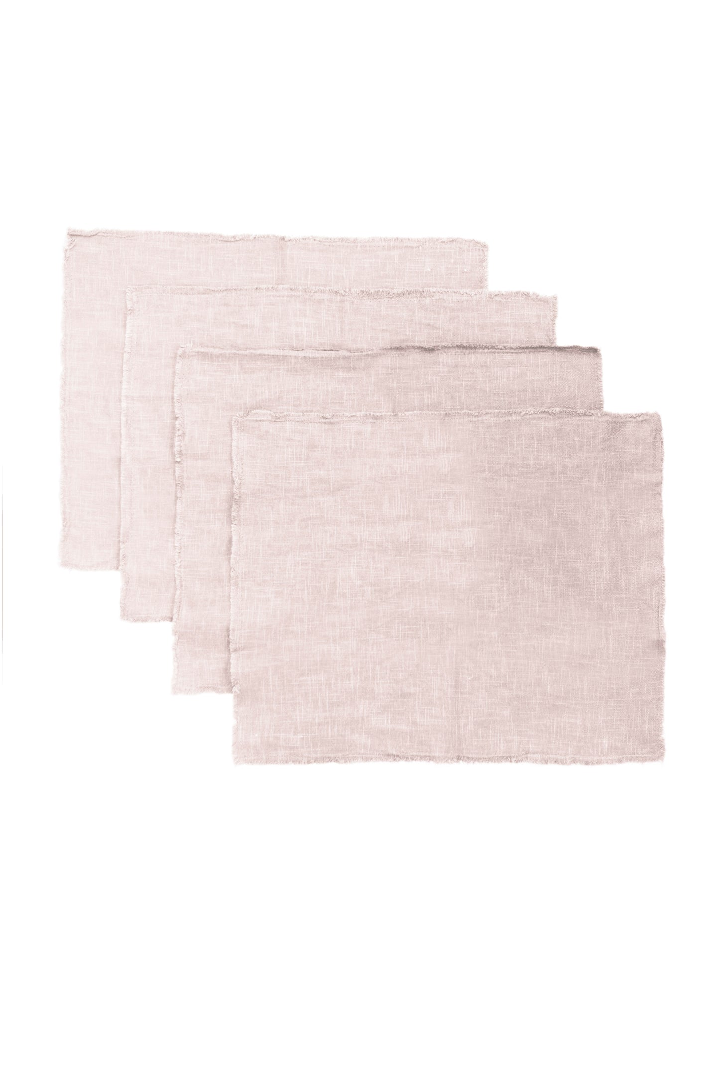 GIANNETTI BLUSH LINEN PLACEMATS (SET OF 4)