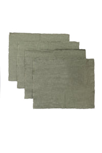 Sage Linen Placemats (Set of 4)