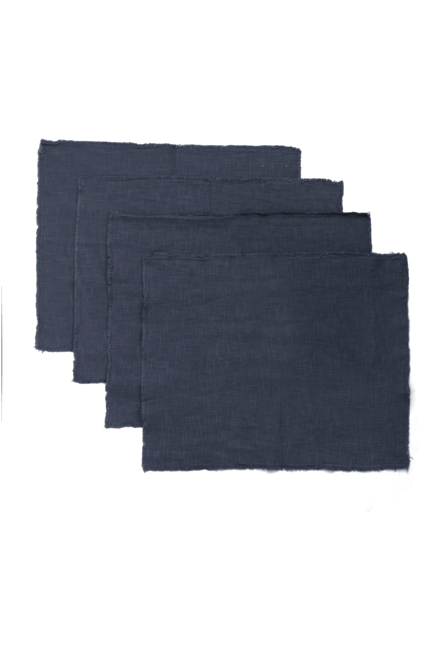GIANNETTI INDIGO LINEN PLACEMATS (SET OF 4)
