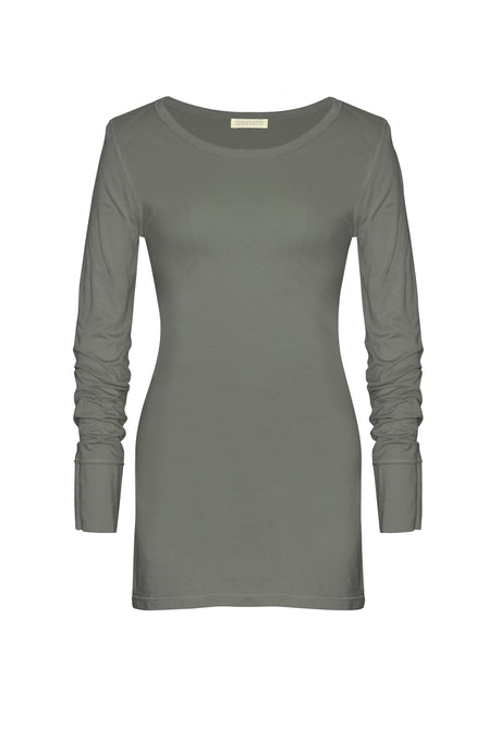 Sage Long Sleeve Tee Shirt