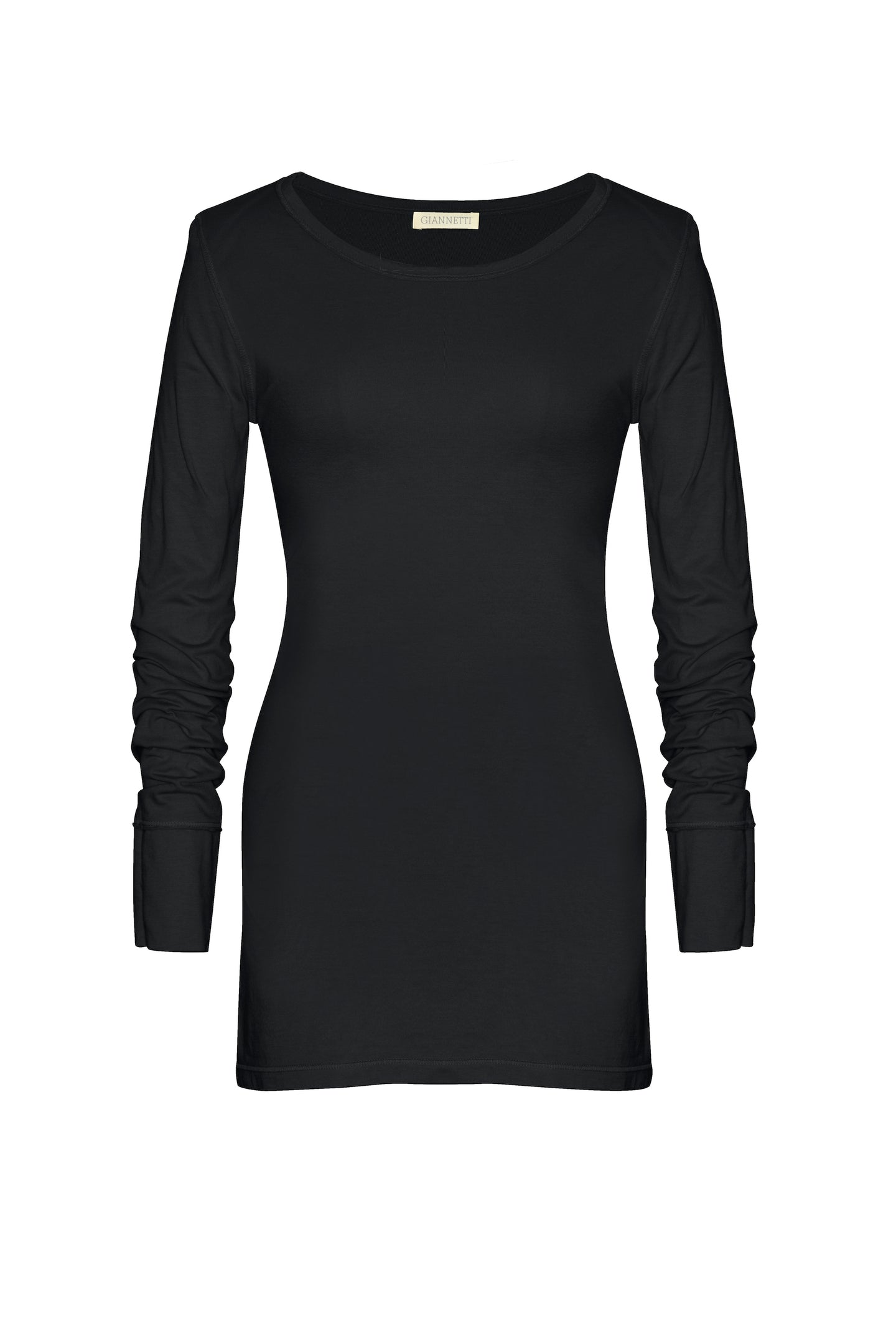 Black Long Sleeve Tee Shirt