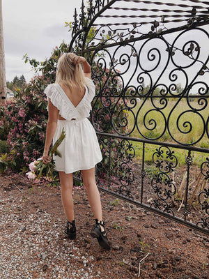 TEZZA DRESS - IVORY