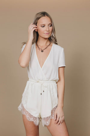 CHLOÉ PLAYSUIT - WHITE