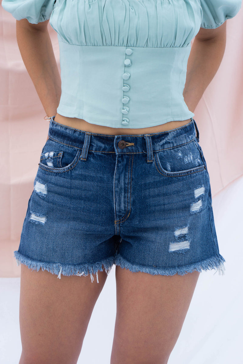 Caroline Denim Shorts