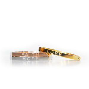 Love, Faith, Hope Bracelets