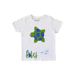 Riley the Turtle Kids T-Shirt