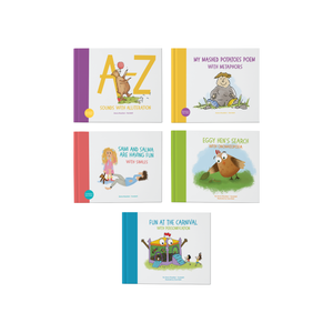 Set of 5 Blooming Books