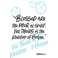 Blessed are the poor in spirit: for theirs is the - 15 - MikalaLei Hawaiian Styling