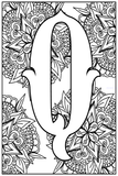 Monogram Coloring Pages