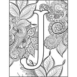 Monogram Coloring Pages - Regal - MikalaLei Hawaiian Styling