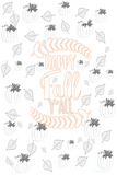 New! HOT!  Welcome Fall Coloring pages!