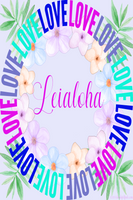 Leialoha-wreath of Love matching Note