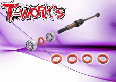 T Works Xray T4 Wheel Bearing Spacer