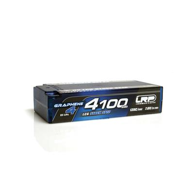 LRP LIPO 4100MAH GRAPH4 HV LCG STOCK SHORTY 7.6V