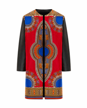 Addis Ababa Coat - Ruby
