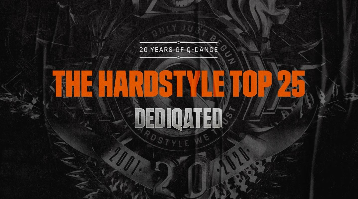 DEDIQATED : vote du Top 25 Hardstyle de Q-Dance