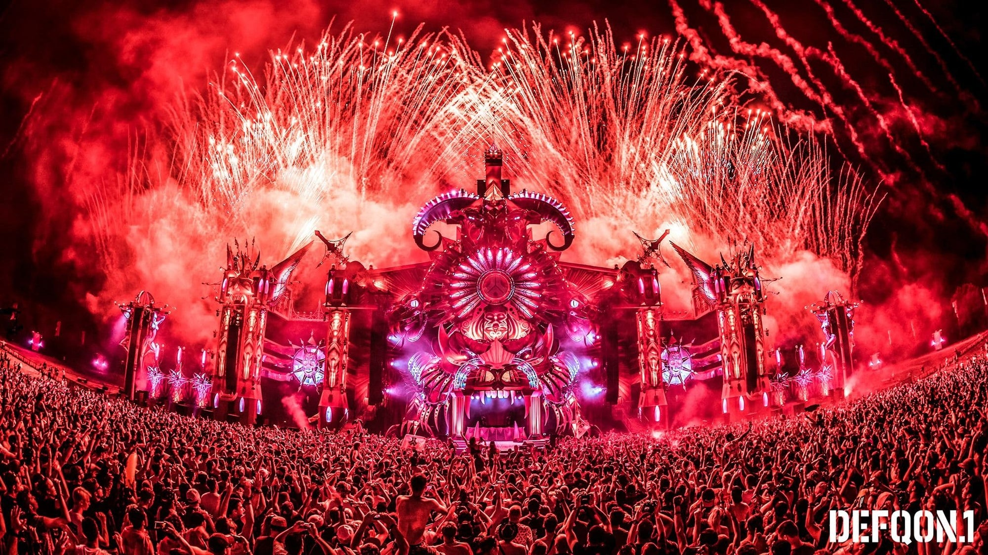 Mainstage Defqon.1 2019 nuit