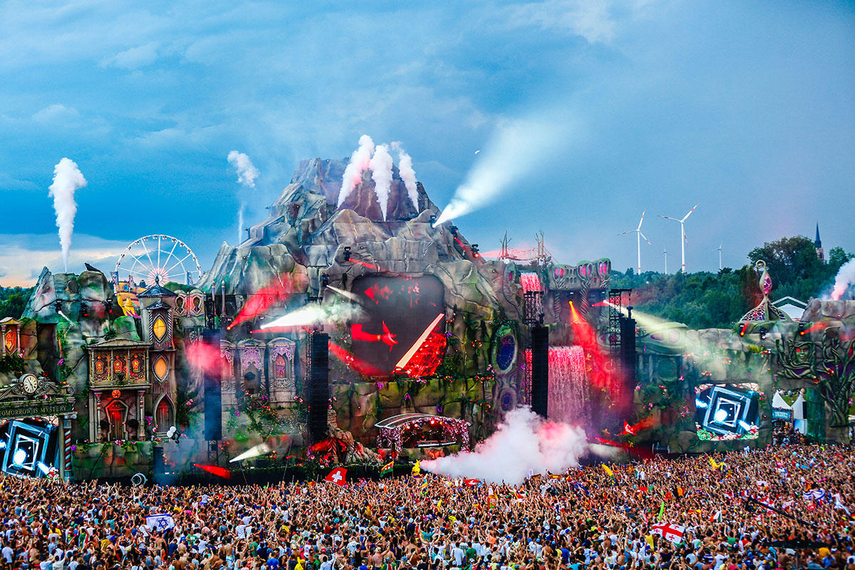 tomorrowland 2013 edition mainstage