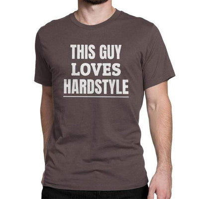 T-Shirt This Guy Loves Hardstyle | Festival Gear