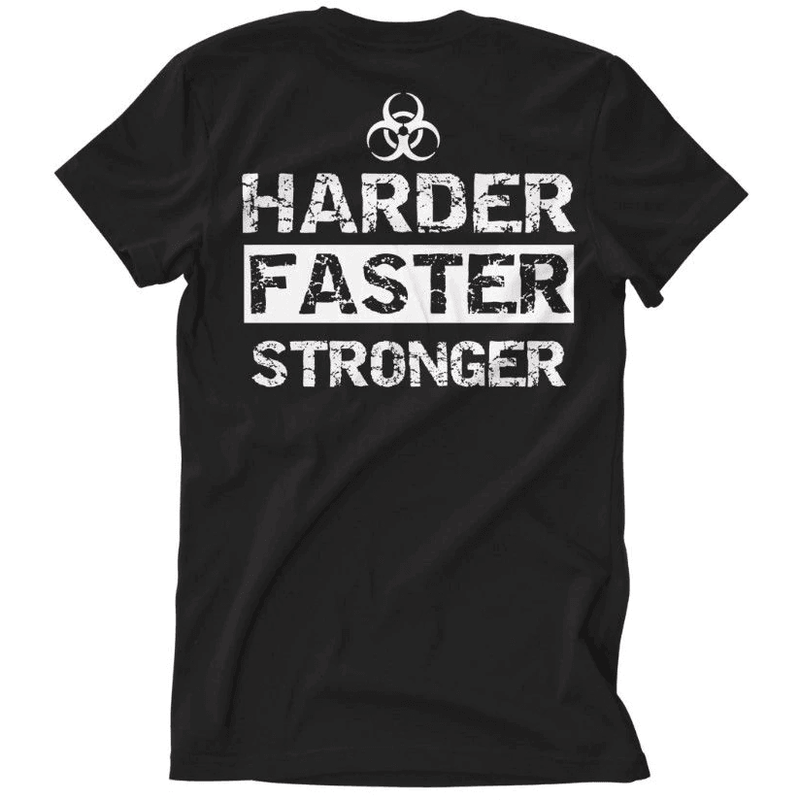 T-Shirt Hardstyle Harder Faster Stronger