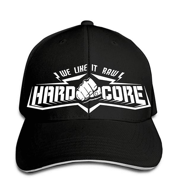 Casquette Hardcore Poing I like Raw