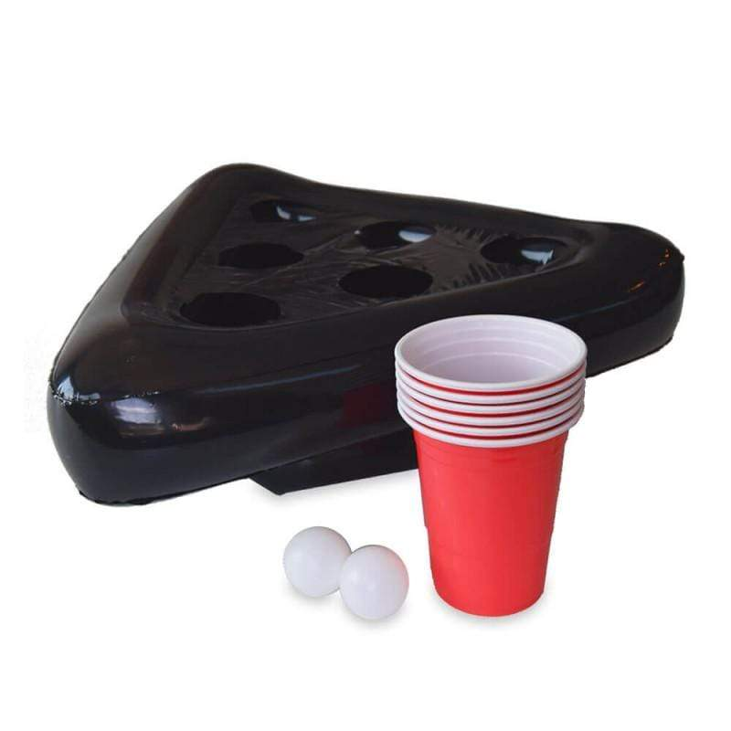 Chapeau Support Table de Beer Pong Gonflable 6 Orifices