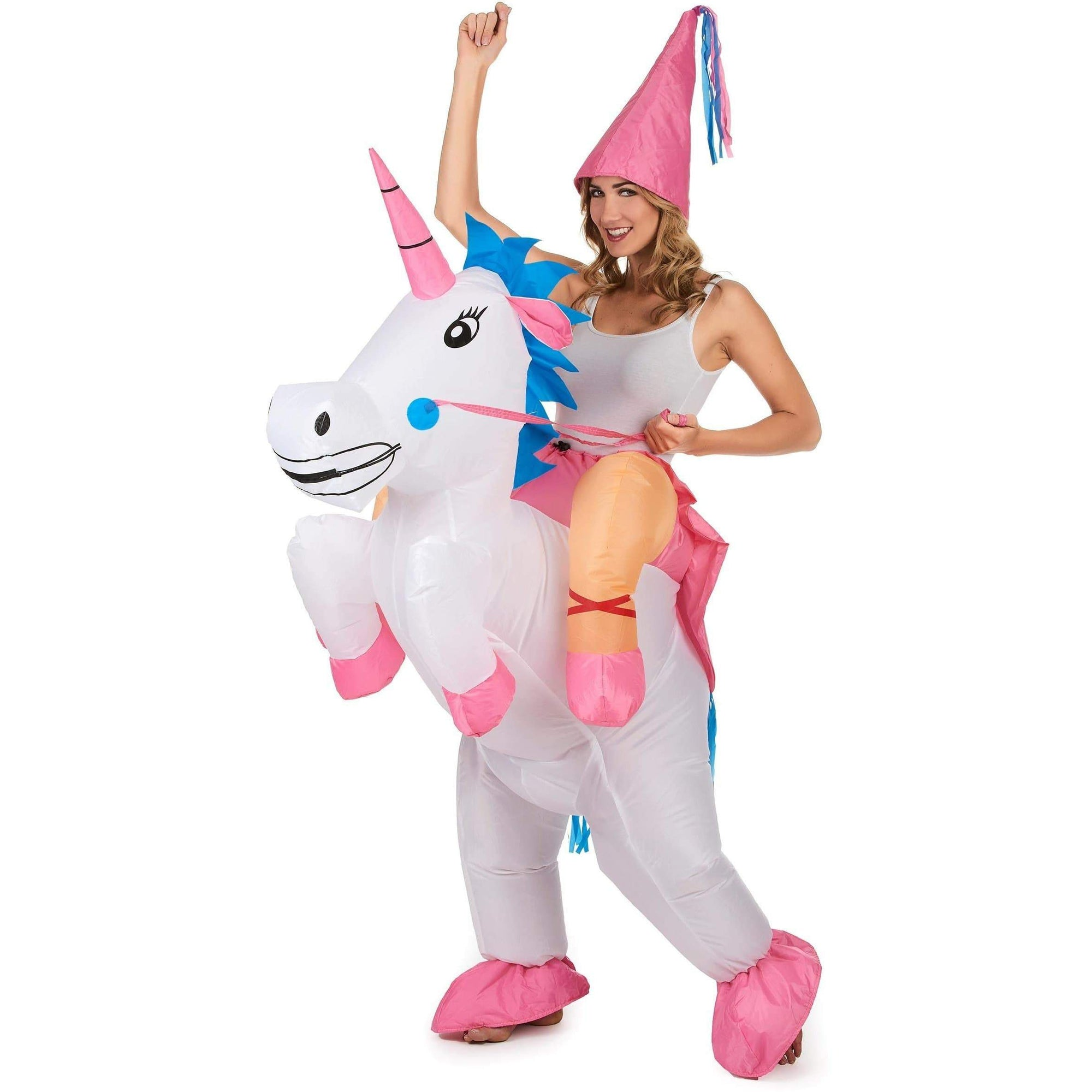 Costume Monture Licorne Gonflable
