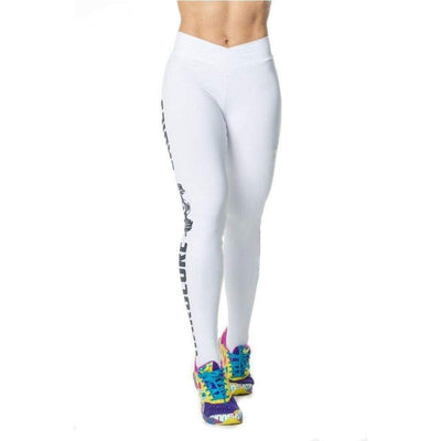 Legging Hardcore Ladies Blanc