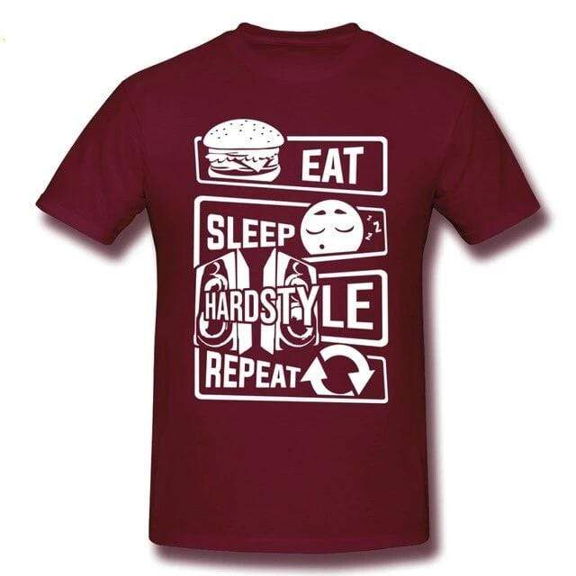 T-Shirt Eat Sleep Hardstyle Repeat