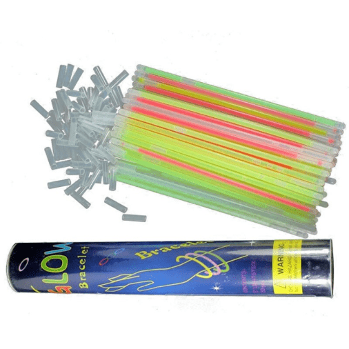 Sticks Fluorescents Lot de 100 | Festival Gear 100