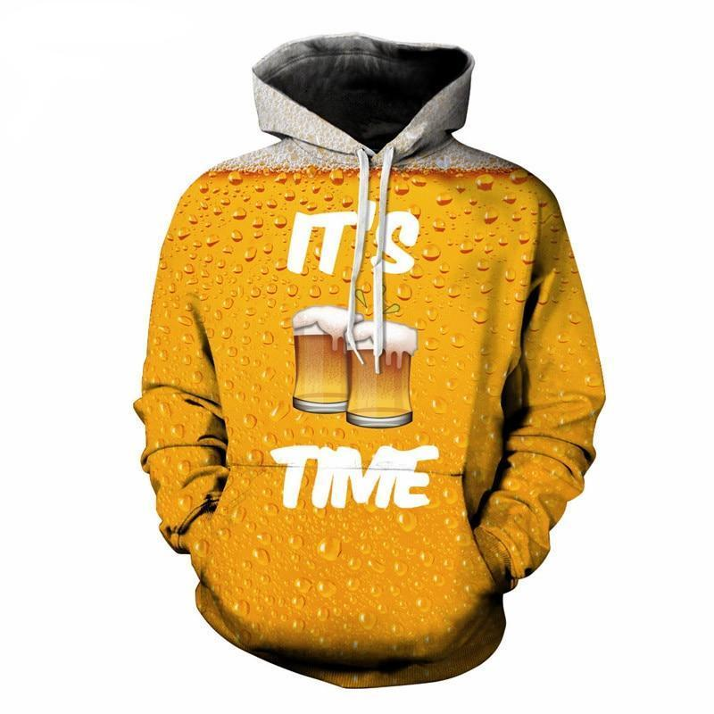 "Sweatshirt ""It's Beer Time"" 