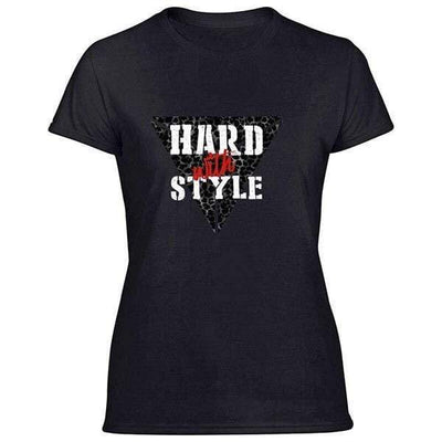 T-Shirt Hard with Style Femme / S