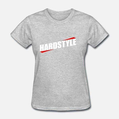 T-Shirt Hardstyle Girl Gris / S
