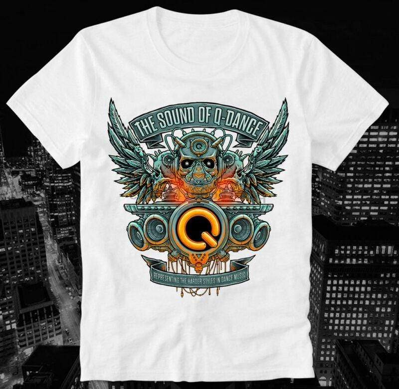 T-Shirt Hardstyle Sound of Q-Dance