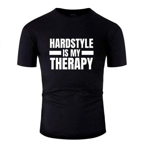 T-Shirt Hardstyle <br/> is my Therapy