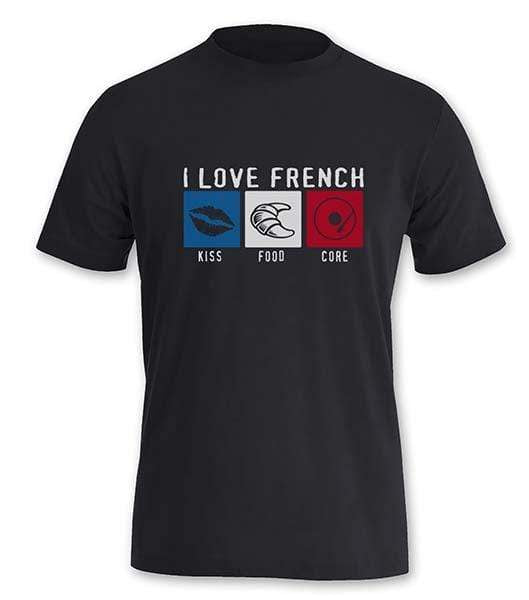 T-Shirt Frenchcore <br/> J'aime la French