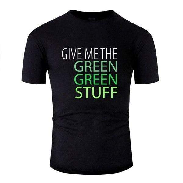 Tee Shirt Hardstyle Green Stuff S / Homme