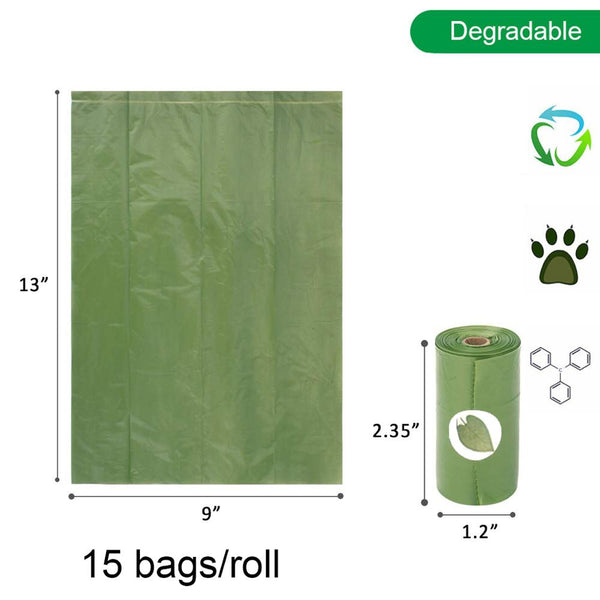 """Poop"" Bag Dispenser + Biodegradable Bags"