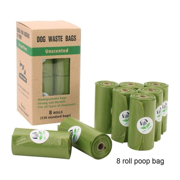 Biodegradable Waste Bags (8 Rolls)