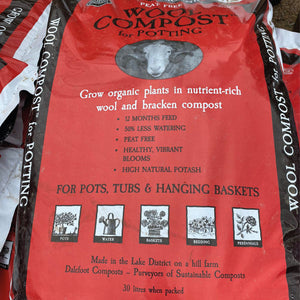Peat free wool compost 30L