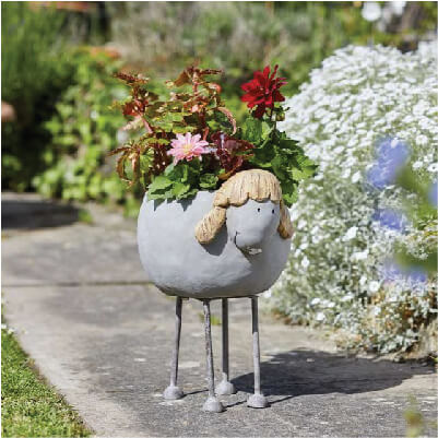 Woodstone Sheep Planter