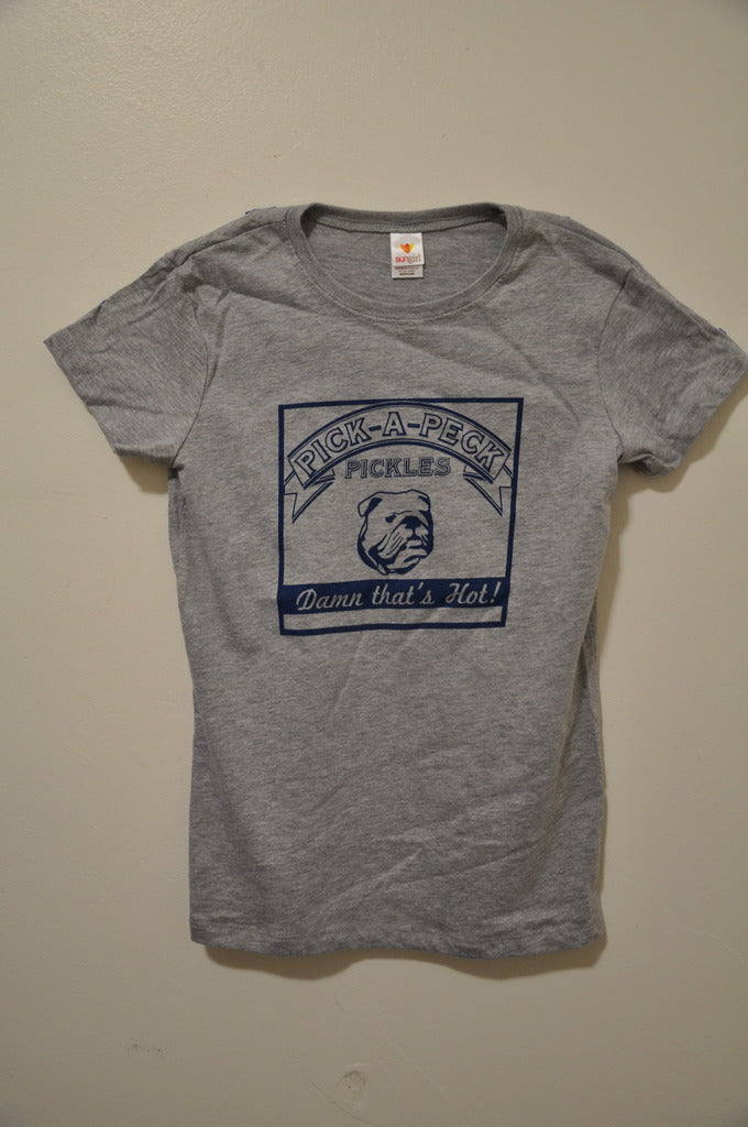 Pick-A-Peck Grey T-Shirt