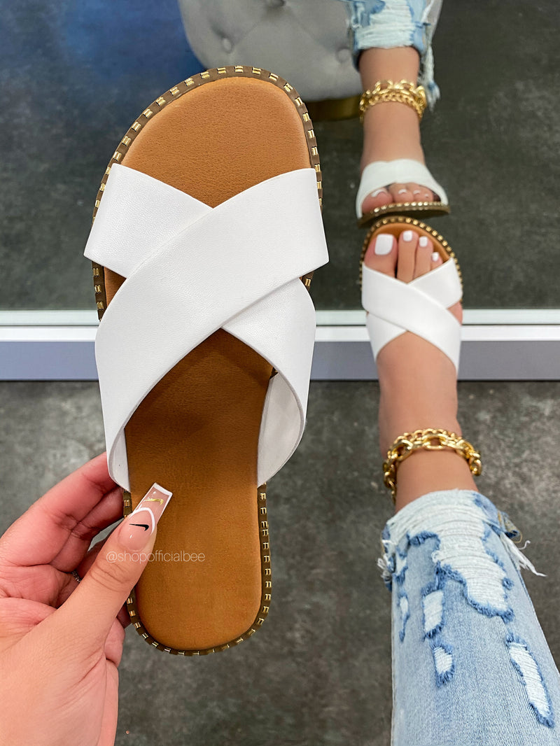 Lauren Sandal - White