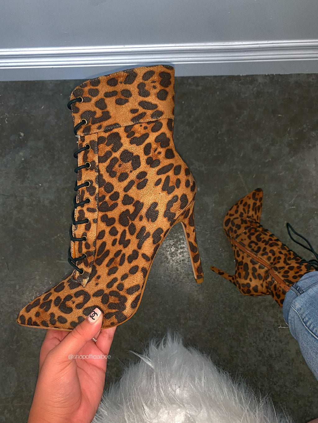 Kimberly Bootie - Leopard